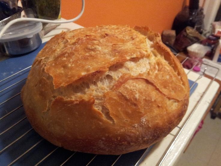 My No Knead Bread
