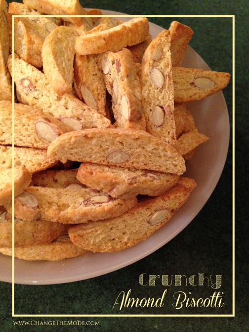 Crunchy Almond Biscotti | Change the Mode