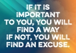 No Excuses Quote